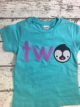 Load image into Gallery viewer, penguin shirt, penguin party, zoo animals