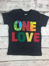 Load image into Gallery viewer, one love birthday shirt, Tie Dye party, tie dye birthday shirt