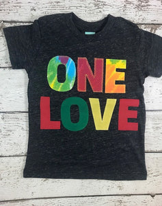 one love birthday shirt, Tie Dye party, tie dye birthday shirt