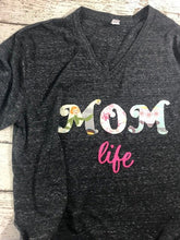 Load image into Gallery viewer, Mom life shirt, mommy shirt, mom life