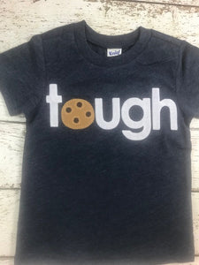 tough cookie shirt Chocolate chip Cookie Birthday Tee Organic Shirt chocolate chip cookie shirt cookie party children's birthday shirt