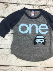 Jeep shirt for boys, jeep birthday shirt, jeep party