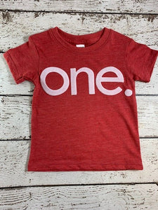 one simple heathered Birthday Tee Organic Shirt Blend first birthday shirt first birthday shirt
