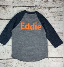 Load image into Gallery viewer, Add a name to your lil threadz design Customize child's name to shirt purchase 1 LETTER