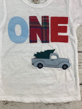 Load image into Gallery viewer, vintage pick up truck birthday shirt, little blue truck shirt, Little blue truck Birthday