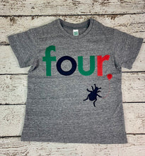 Load image into Gallery viewer, Bug shirt, bug birthday shirt, bug birthday party