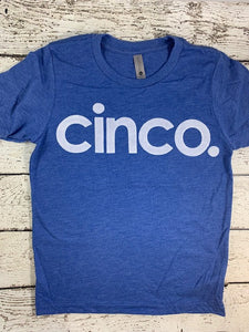 spanish birthday shirt, cinco shirt, five shirt