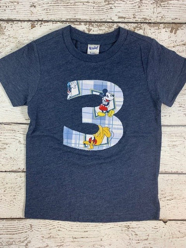 3rd birthday shirt, 3 shirt, Mickey birthday shirt