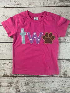 puppy party, paw shirt, paw party