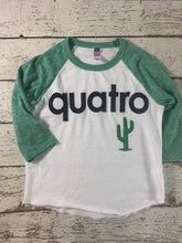 Load image into Gallery viewer, quatro shirt fourth birthday shirt spanish birthday shirt, cactus shirt,birthday shirt