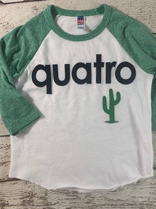 quatro shirt fourth birthday shirt spanish birthday shirt, cactus shirt,birthday shirt