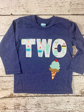 Load image into Gallery viewer, Ice cream birthday shirt, ice cream party, ice cream shirt