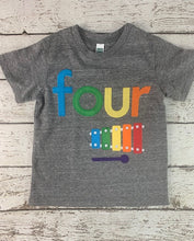 Load image into Gallery viewer, xylophone, xylophone shirt, Music party