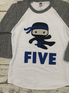 ninja birthday shirt, ninja shirt, ninja party