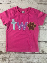 Load image into Gallery viewer, puppy party, paw shirt, paw party