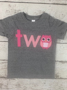 owl birthday shirt, owl shirt, owls