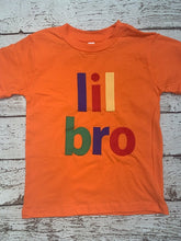 Load image into Gallery viewer, colorful brother shirt, lil bro shirt, big bro shirt