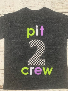 pit crew shirt, family birthday shirts, pit crew birthday tee