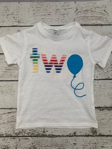 rainbow shirt, rainbows and balloons, Balloon party
