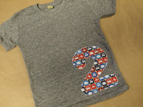 Planes Trains and Automobiles Birthday Shirt Boys T-shirt Organic Blend