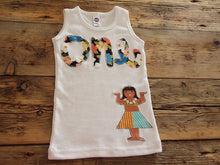 Load image into Gallery viewer, Luau Birthday Shirt Girls Hula Girl Print first birthday second third Burnout Tee Hawaiian theme party adorable with tutu