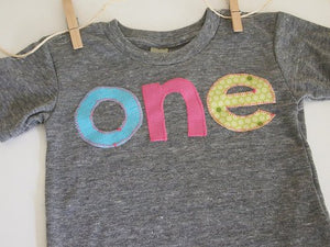 Rainbow Birthday Tee Organic Blend Colorful Birthday Shirt first birthday etc customize with preferred colors