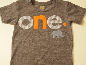 First birthday shirt, elephant birthday decor, Elephant and balloon