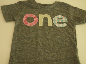 Girls Birthday Tee pink teal light yellow Organic Shirt Blend first birthday shirt vintage sugar and spice