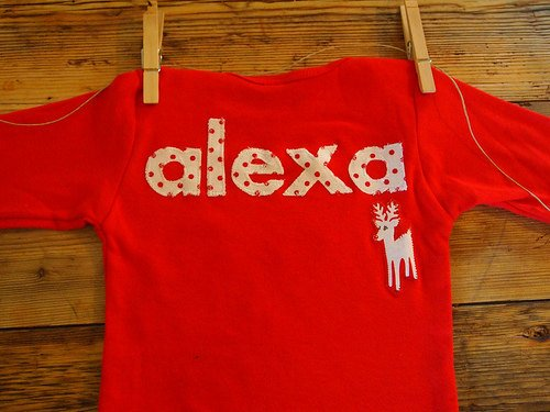 Personalized holiday shirt select your fabric preference and what you want the shirts to say chevron stripe deer etc toddler baby children