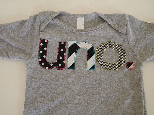 Black and white Birthday Tee polka dot chevron houndstooth Organic Shirt Blend first birthday shirt first birthday shirt uno one dos etc