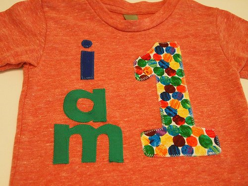 Birthday shirt primary color dots i am 1 2 etc