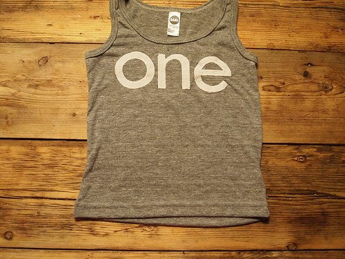 one simple heathered Birthday Tee Organic Shirt Blend first birthday shirt first birthday shirt tank top
