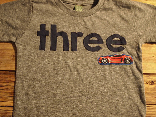 Race car Birthday Tee Organic Blend Black navy  Shirt Boys Birthday Shirt hot rod vintage car birthday