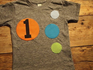 Retro style ball birthday shirt ball party first birthday shirt vintage birthday