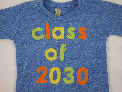 Class of Tshirt School pictures class gift teacher pre school first day of school shirt graduation shirt