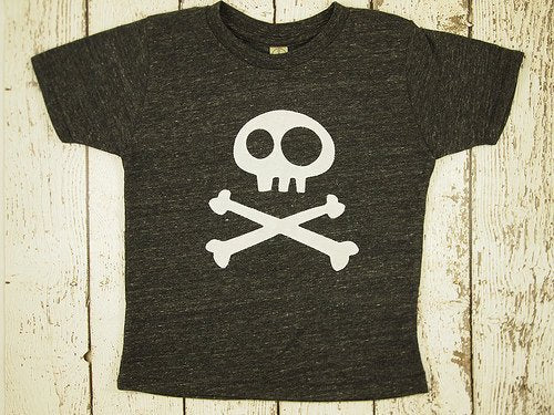 Skull and Crossbones shirt toddler tee boys and girls tshirt Pirate Birthday Shirt Boys Tee Organic Blend Boys shirt skater
