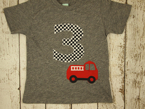 Fire Truck Birthday, fire truck shirt, fireman party