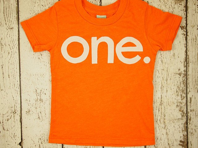 one simple heathered orange Birthday Tee Organic Shirt Blend first birthday shirt first birthday shirt summer party