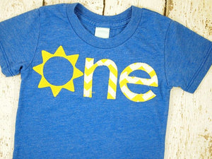 You are my sunshine birthday Yellow Chevron Sunshine Childrens shirt Birthday Sun applique Organic Shirt Blend first birthday second