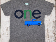 Load image into Gallery viewer, Little blue truck shirt, Little blue truck Birthday, Truck Party