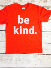 Load image into Gallery viewer, be kind. Tee, give thanks, Jesus shirt