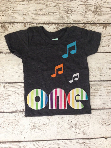 Music party music birthday Shirt Organic Shirt Blend music party boys girls music notes select preferred colors for any birthday