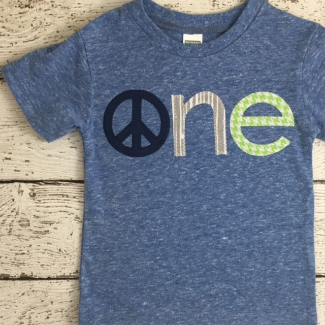 Peace shirt pax peace and love children's birthday shirt Boys and Girls custom tee can be customized for any birthday colors