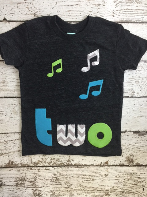 Music notes music party music birthday Shirt Organic Shirt Blend music party boys girls music notes select preferred colors for any birthday