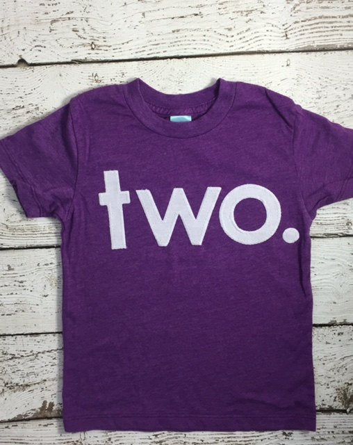 Girl's birthday shirt for any birthday, purple shirt simple Birthday Tee Organic Shirt Blend first birthday shirt
