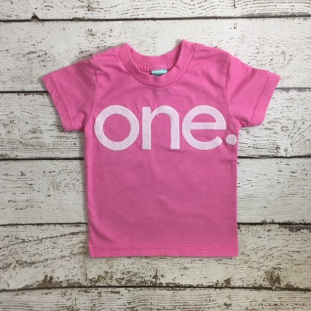 Pink party, pretty in pink, First birthday shirt