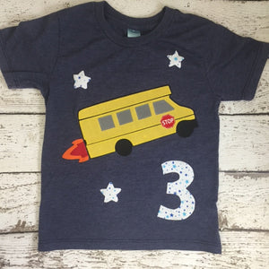 School bus shirt, Transportation party, school bus party