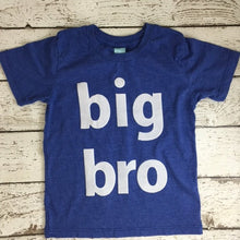 Load image into Gallery viewer, Big Brother shirt, birth announcement, big bro tee