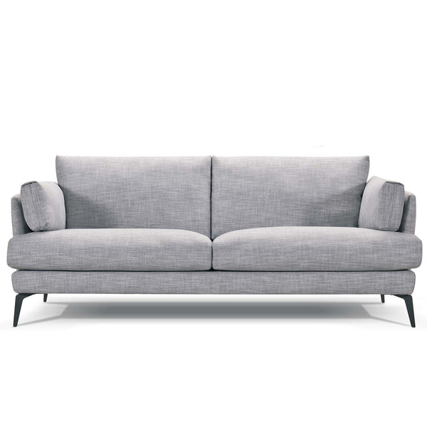 Addington : Fabric Sofa with Black Legs - Modern Home Furniture