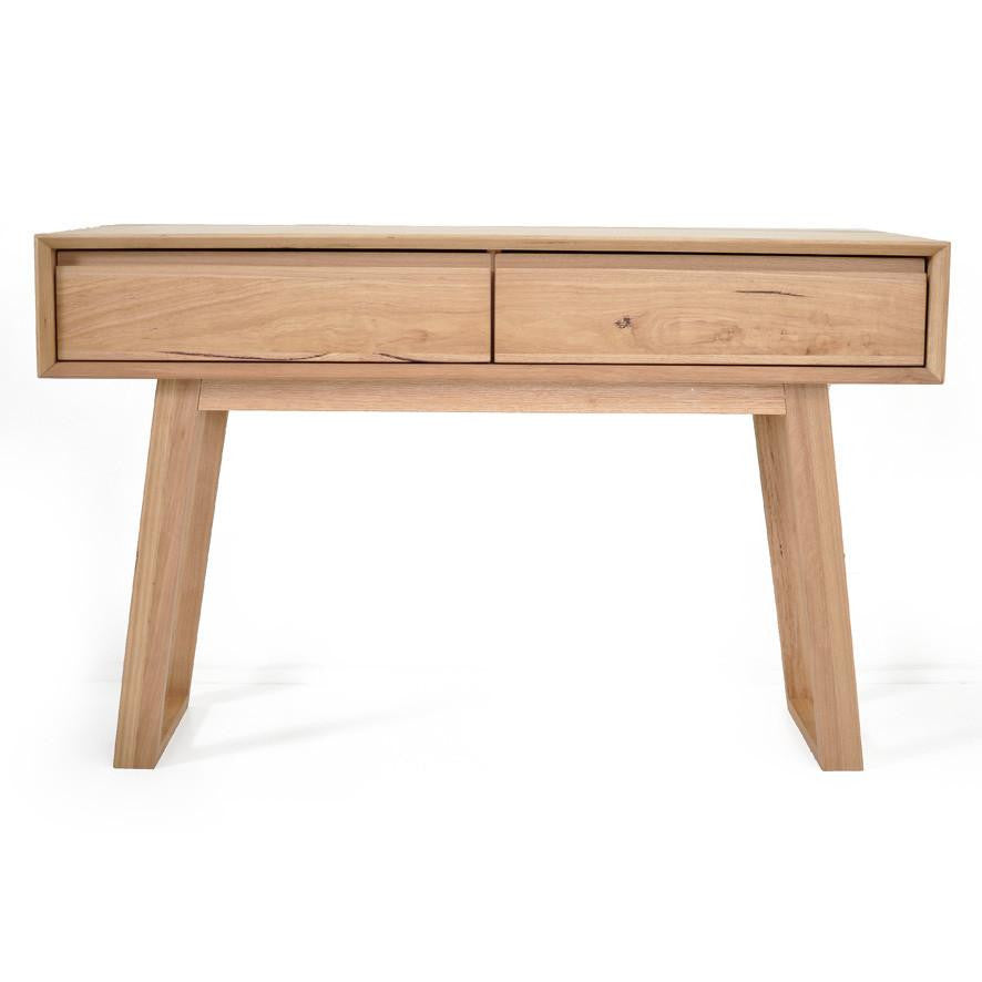 Baxter : Console Table in Messmate Hardwood - Modern Home Furniture